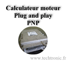 Image Calculateur Moteur Plug and play. PNP